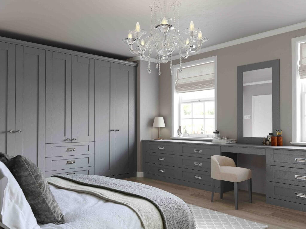 Finsbury Painted Bedroom Dust Grey