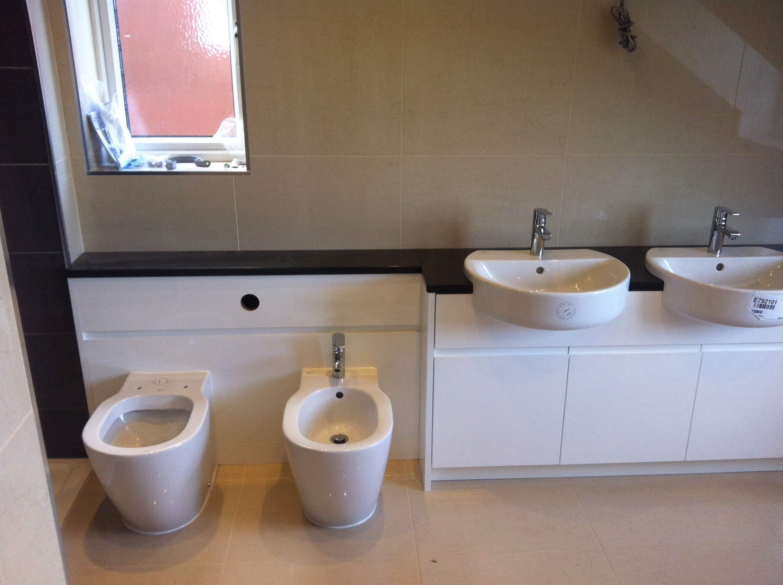 Finished en-suite for Mr & Mrs D of Barnstaple