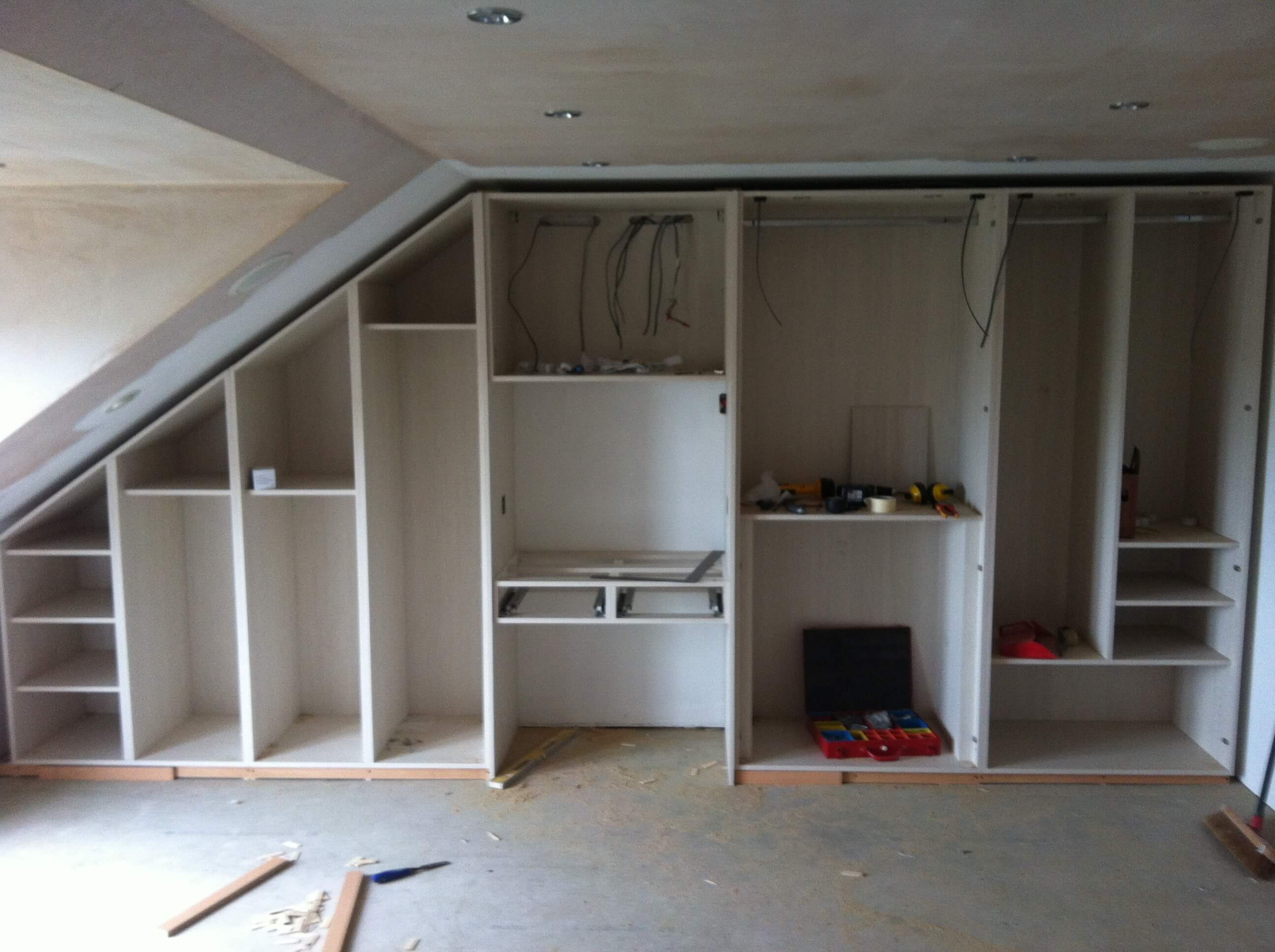 All Bedroom units installed