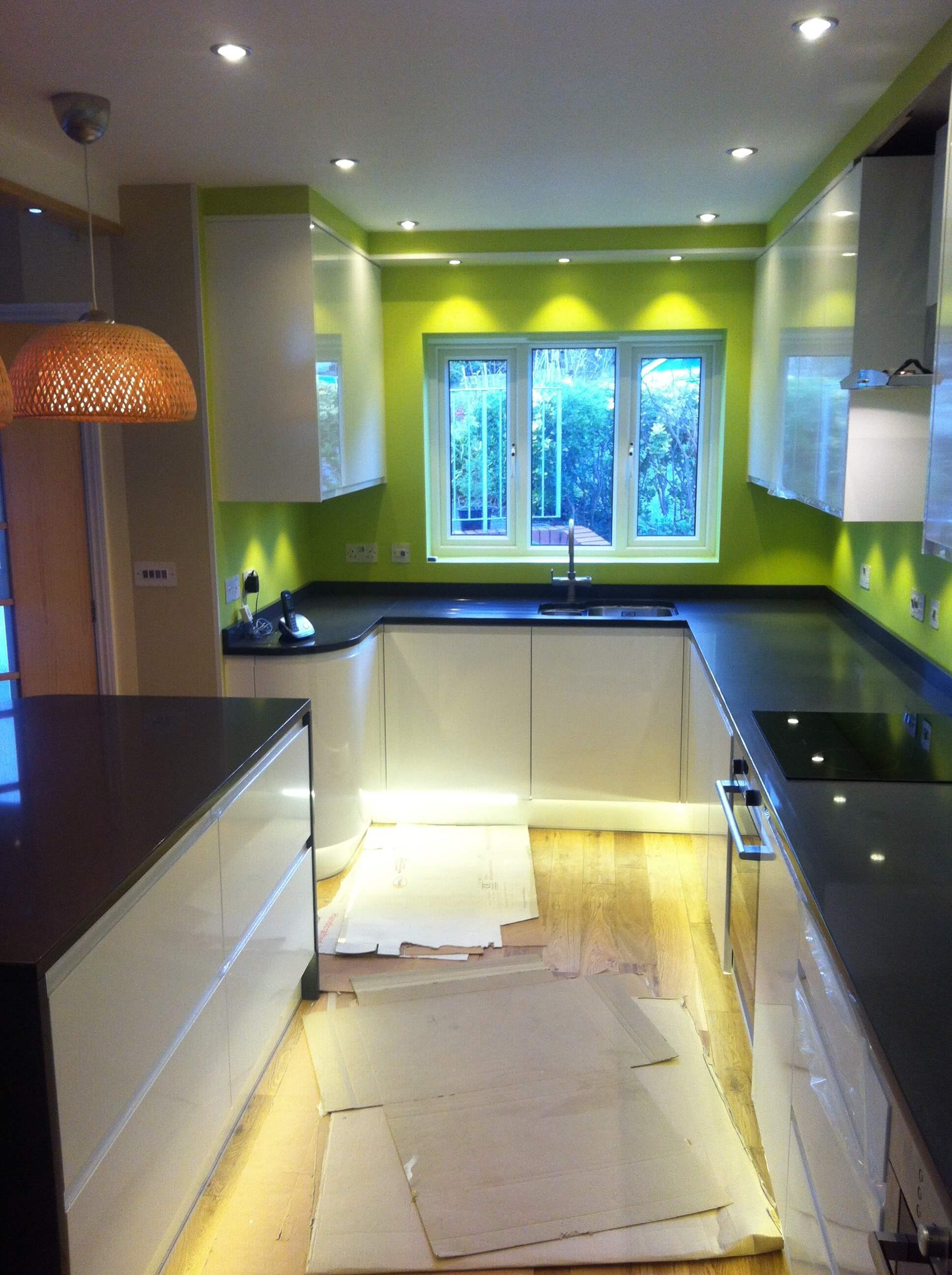 Mr & Mrs D of Barnstaple Finished Kitchen
