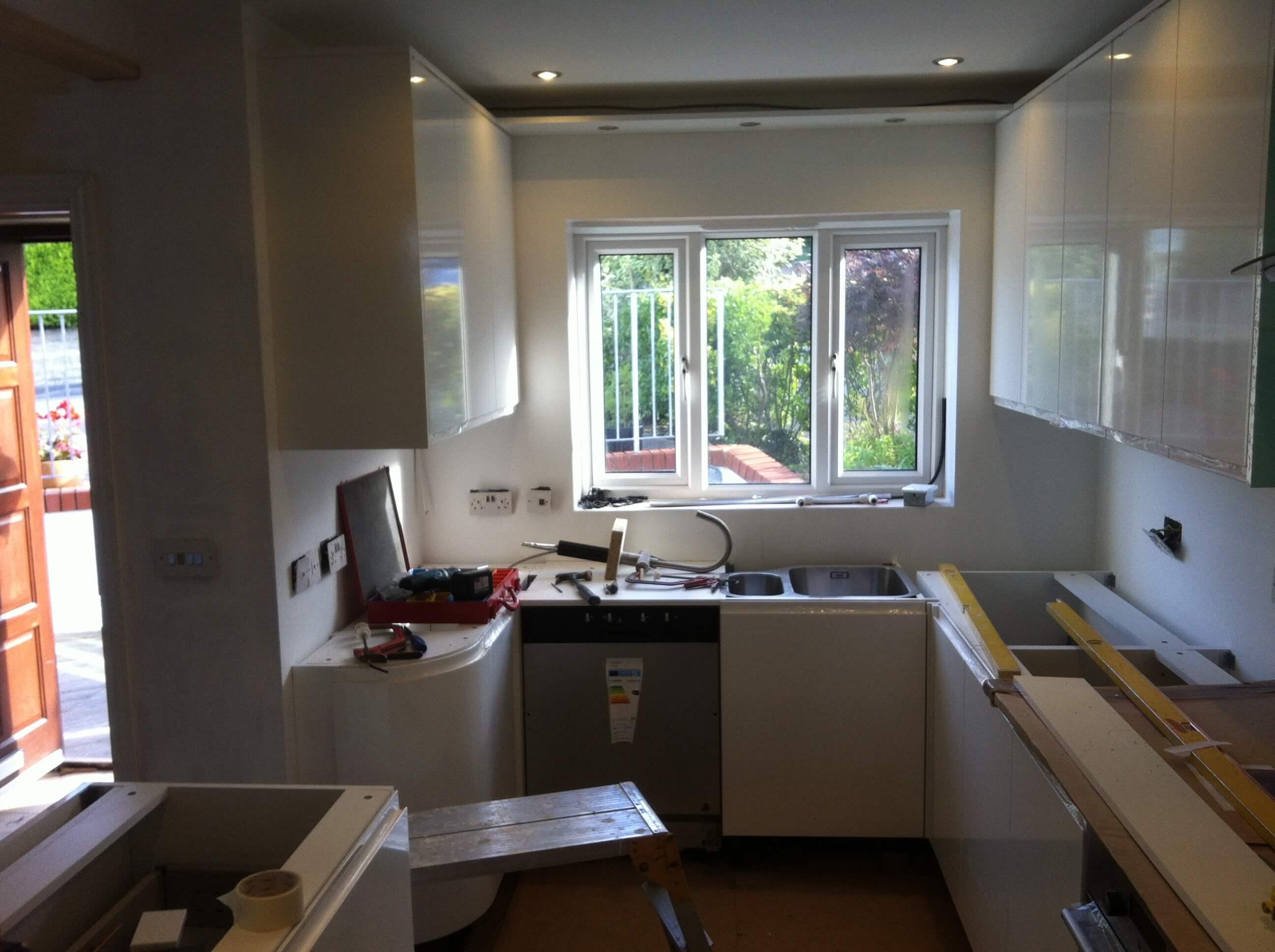 Duckett Kitchen Before Worktops