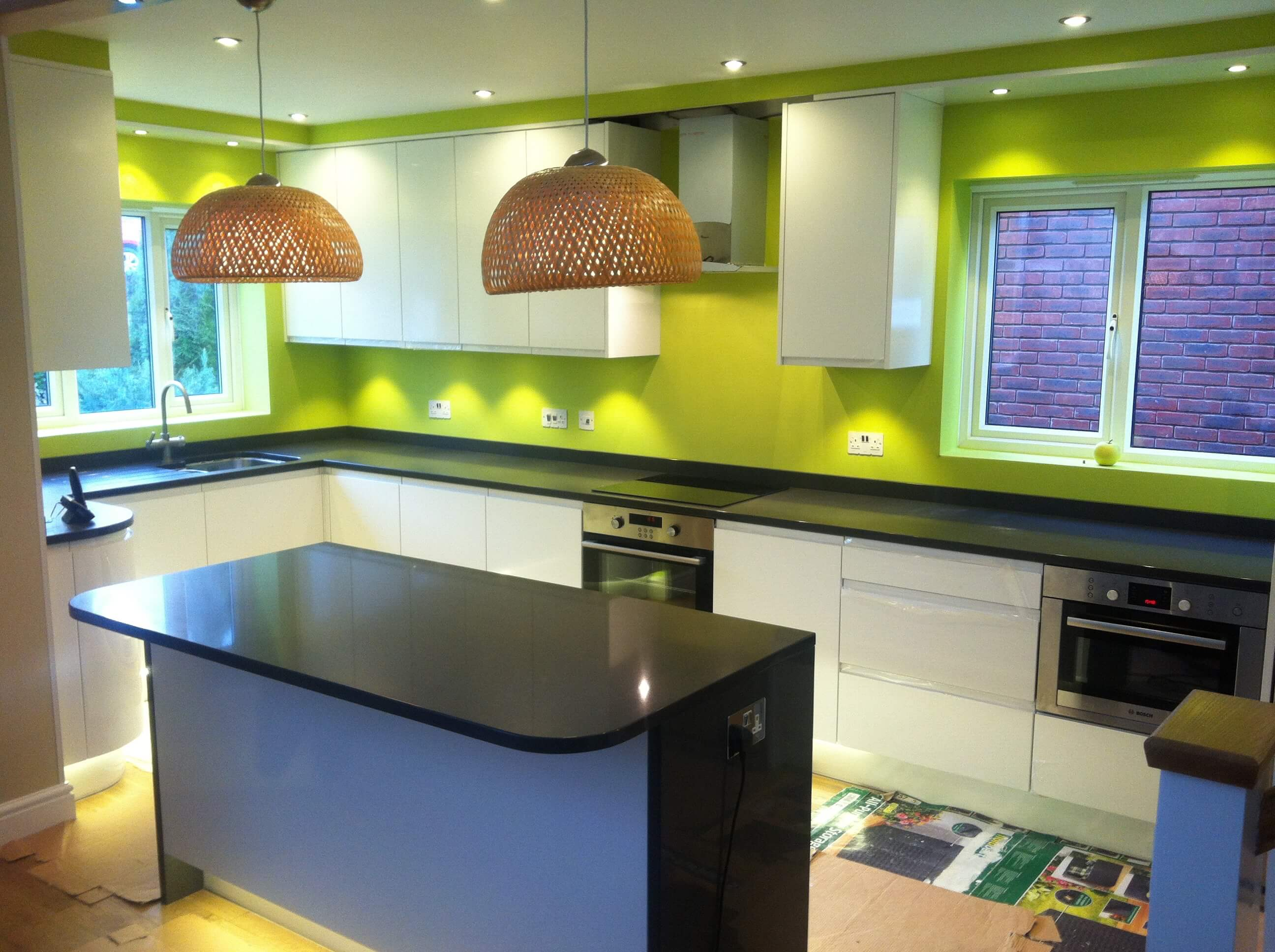Clients projects south west fitted kitchens for Fitted kitchens uk