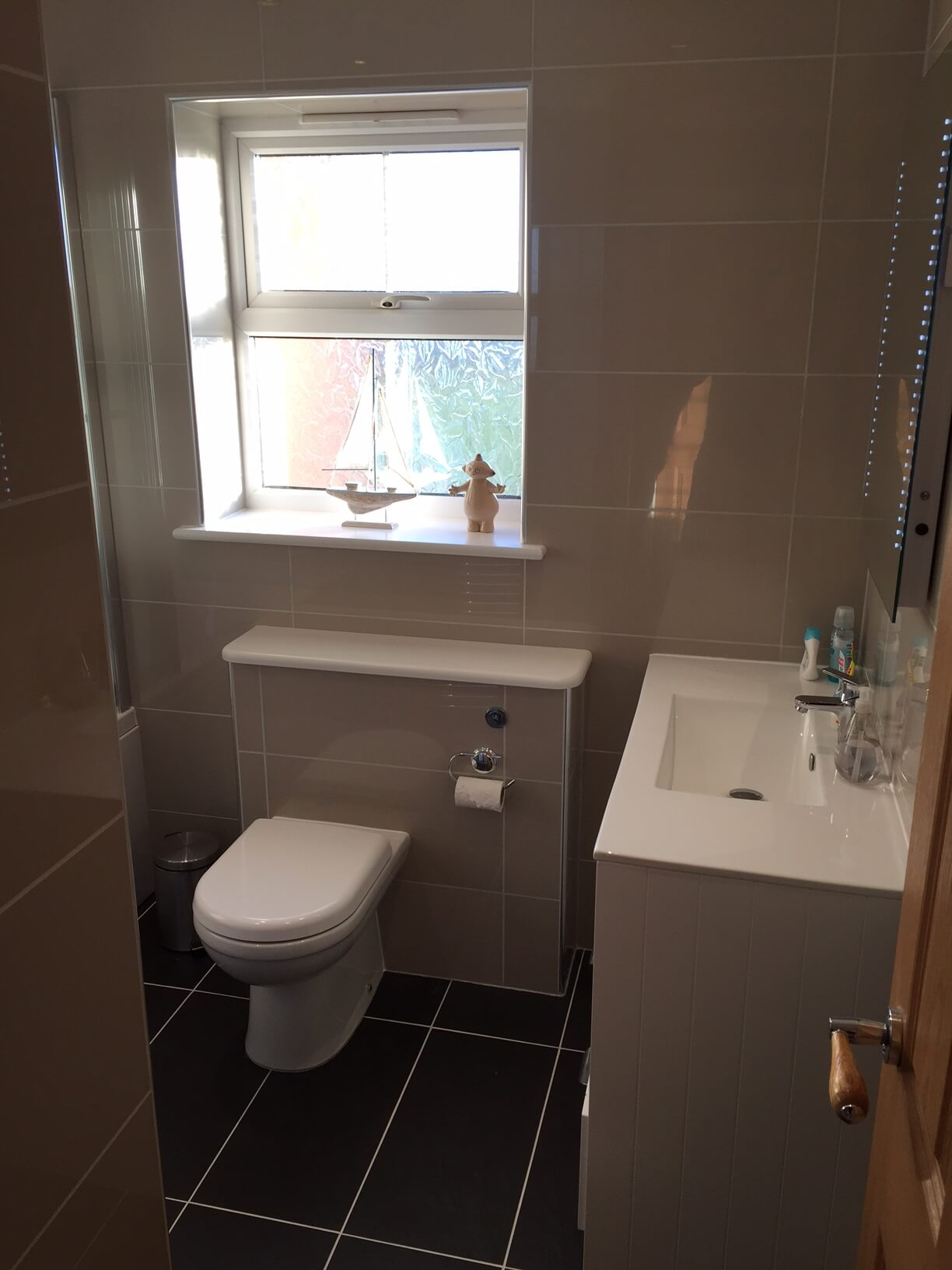 Finished Bathroom for Mr & Mrs S of Northam