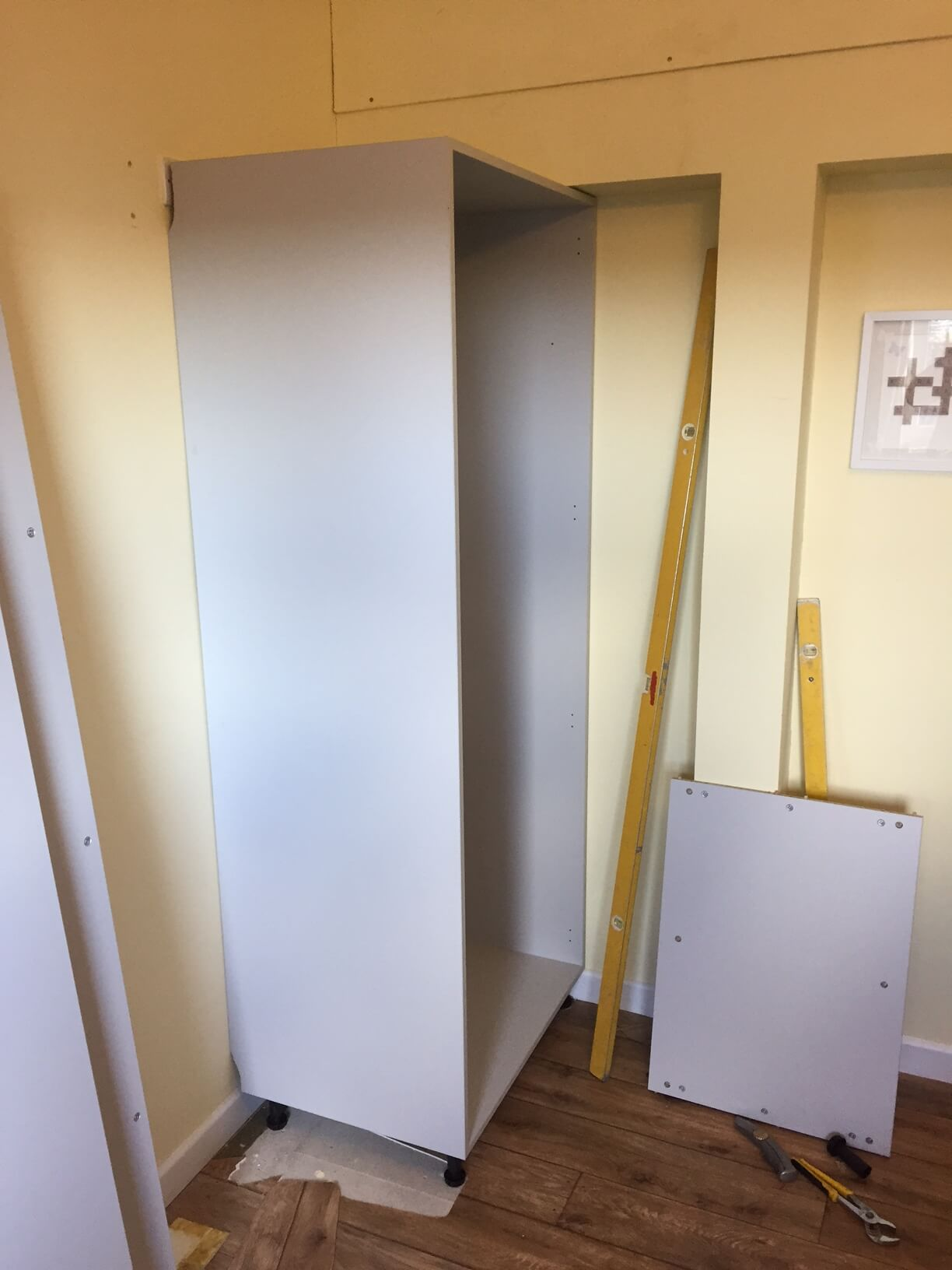 Wardrobe Going UP in Crediton