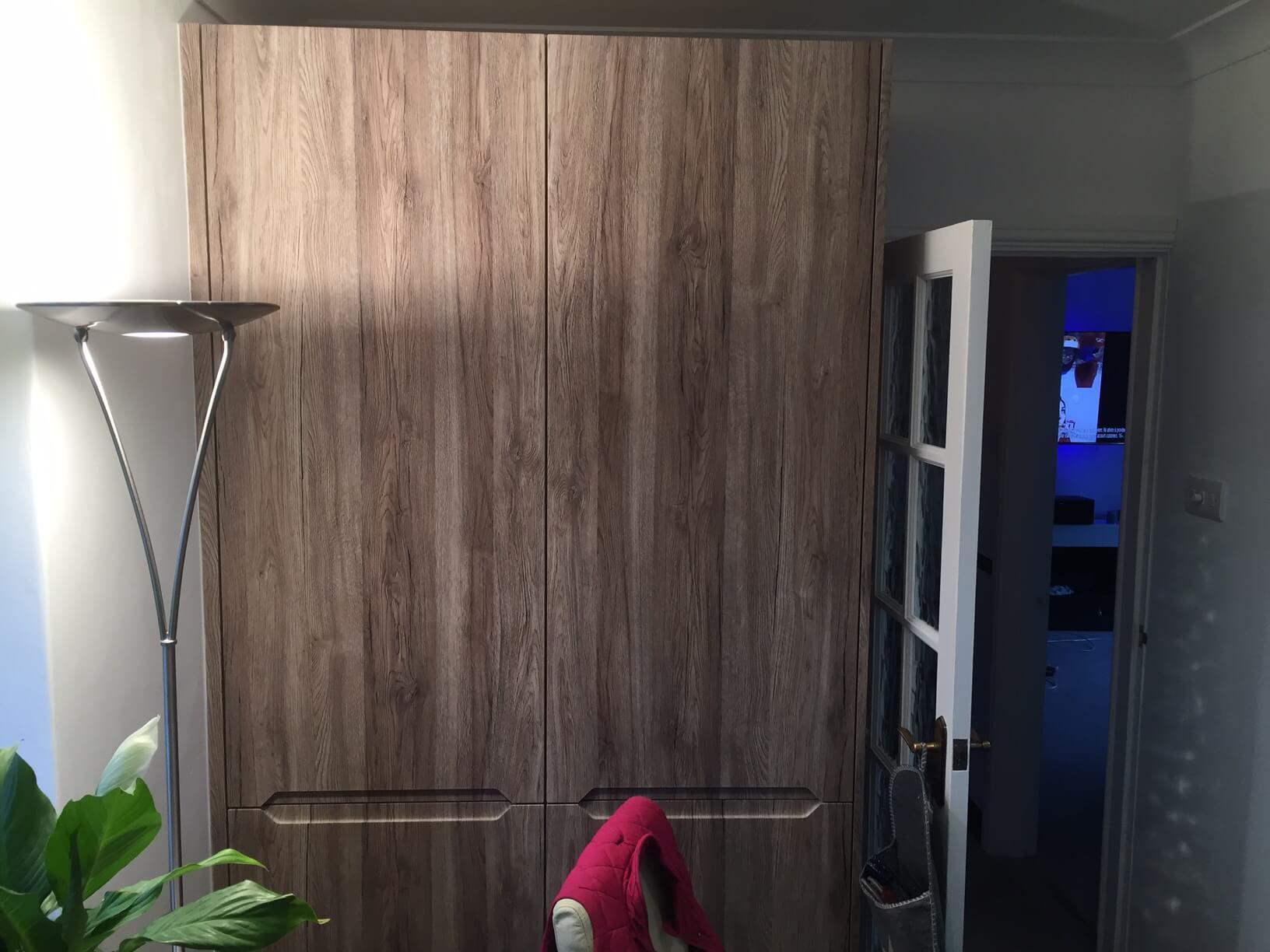 Larder and fridge freezer cupboards