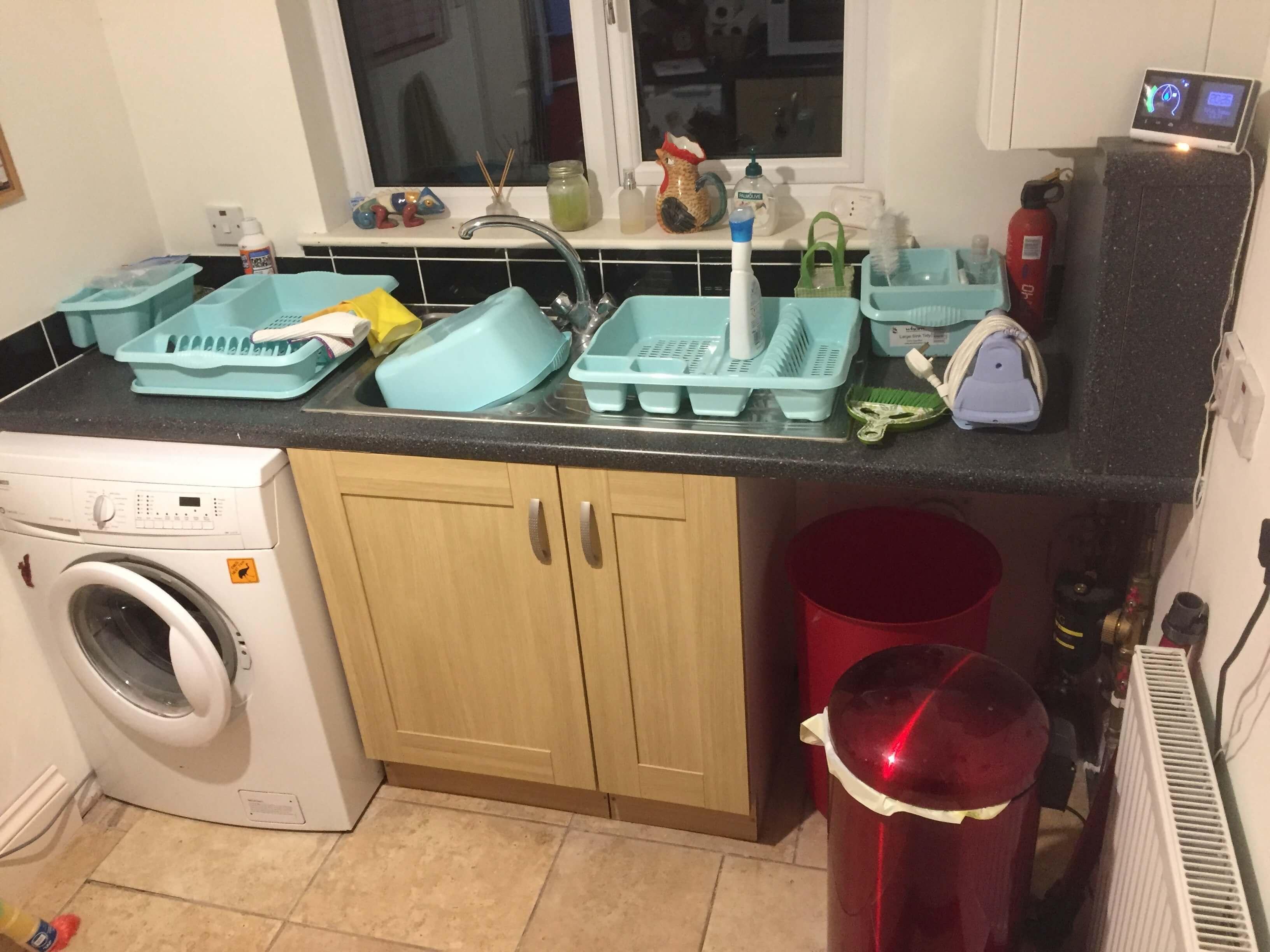 Old Utility sink run