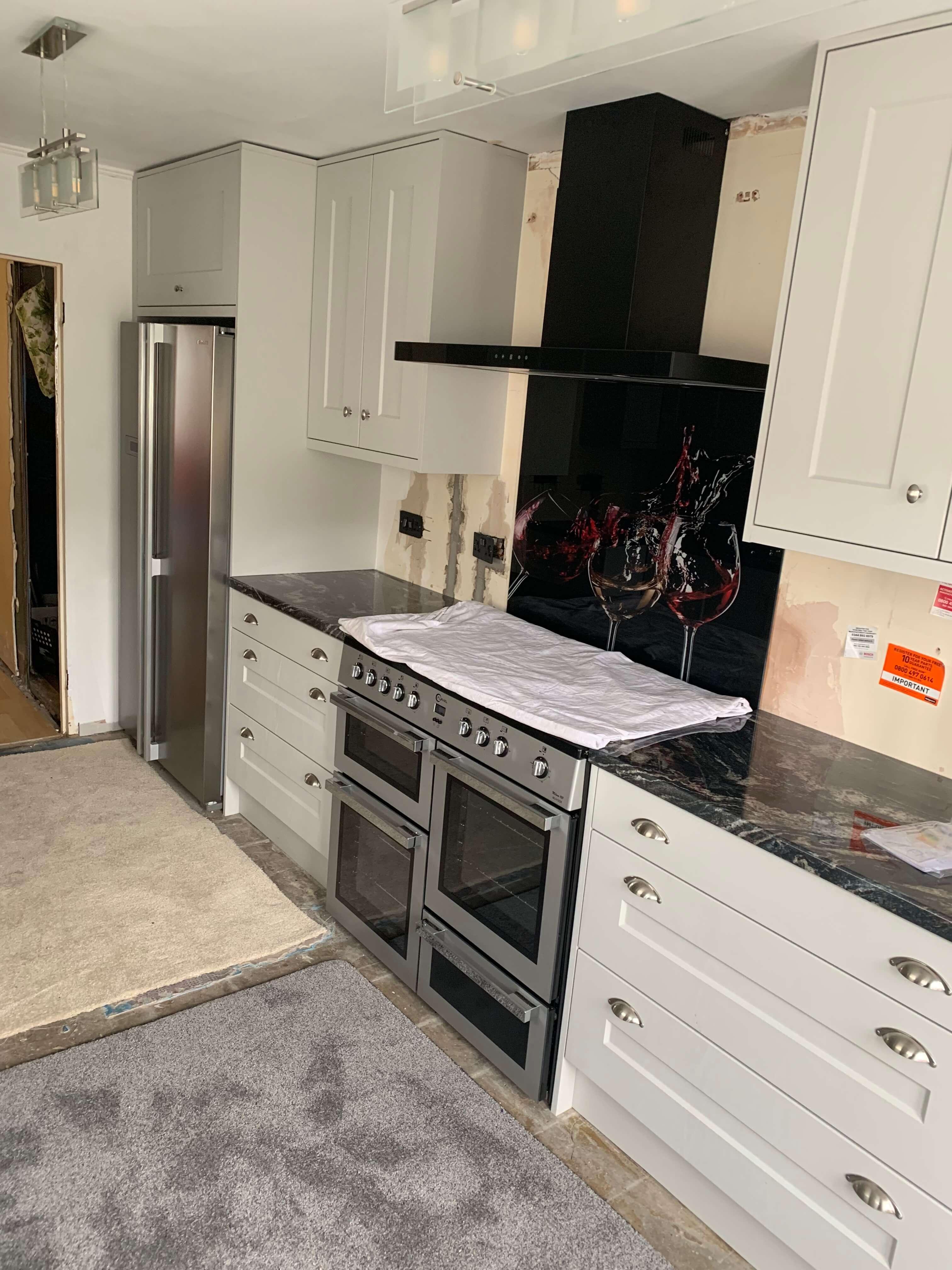 Galley Kitchen for Mr & Mrs T of Bideford