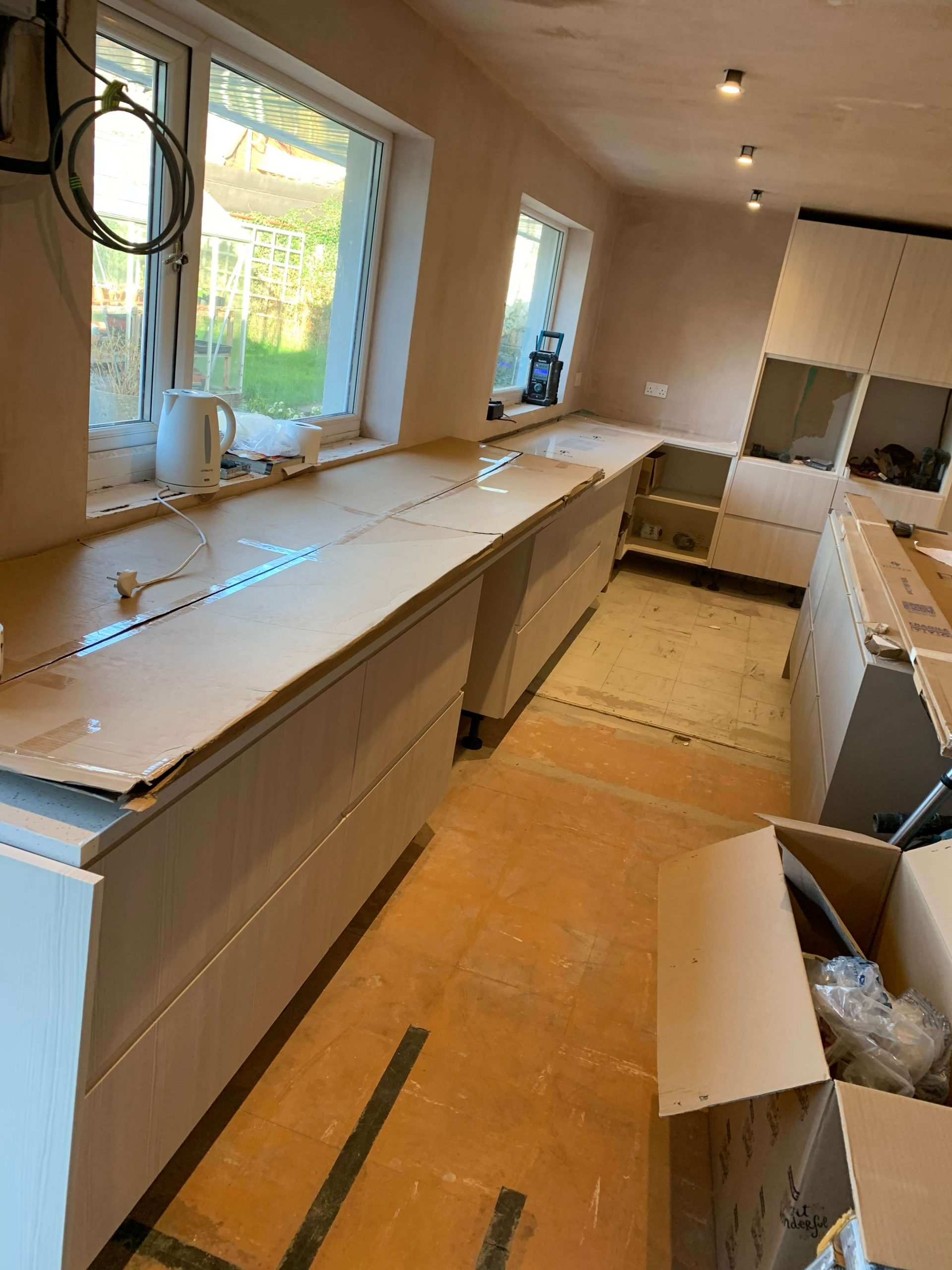 Worktops cut to size