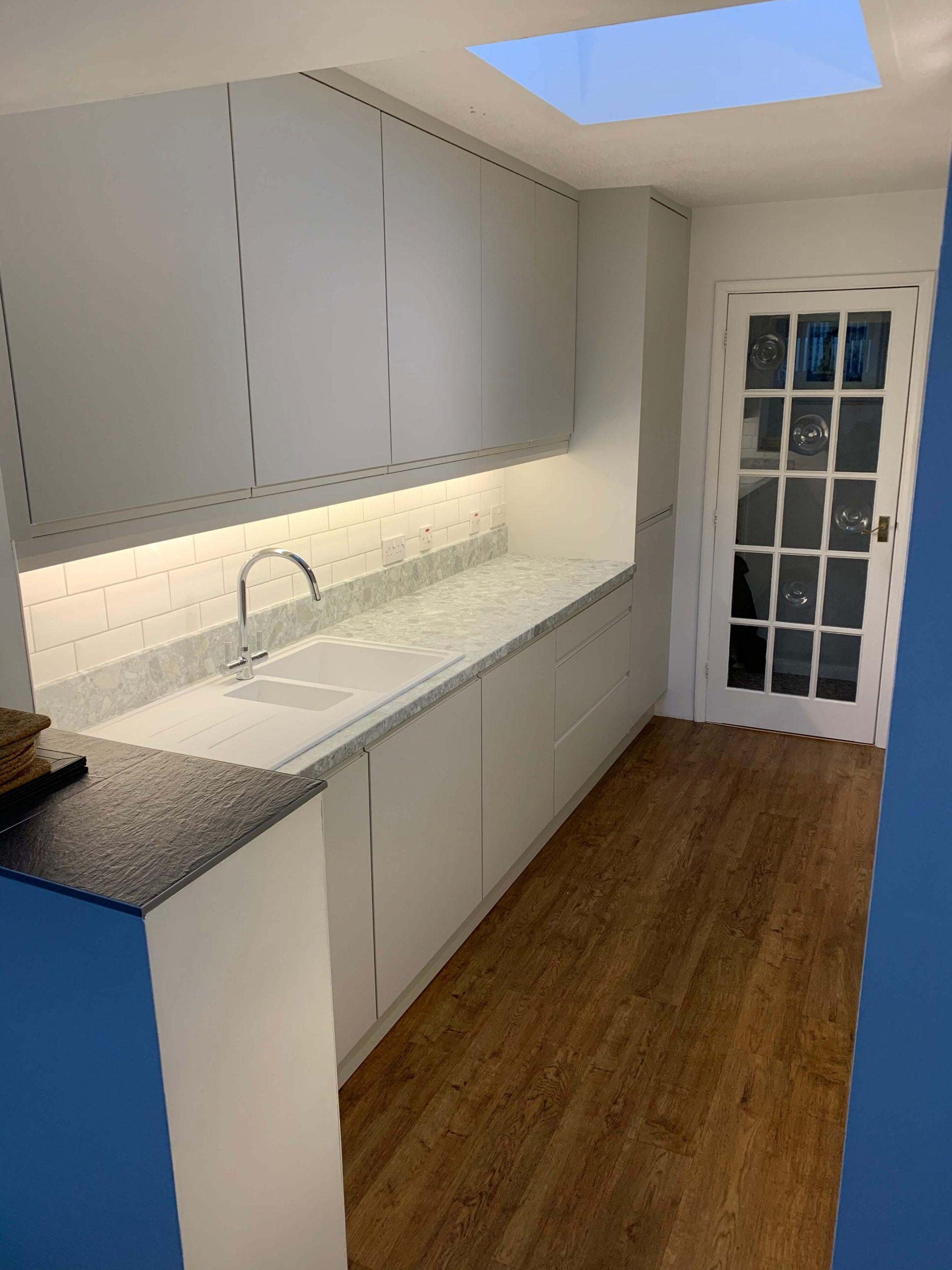 Handless Galley Kitchen