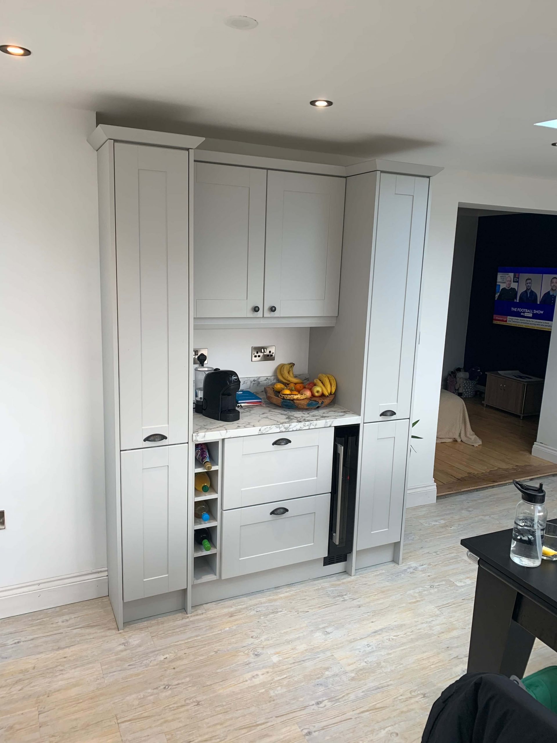 Dresser Area With Larder Pullouts