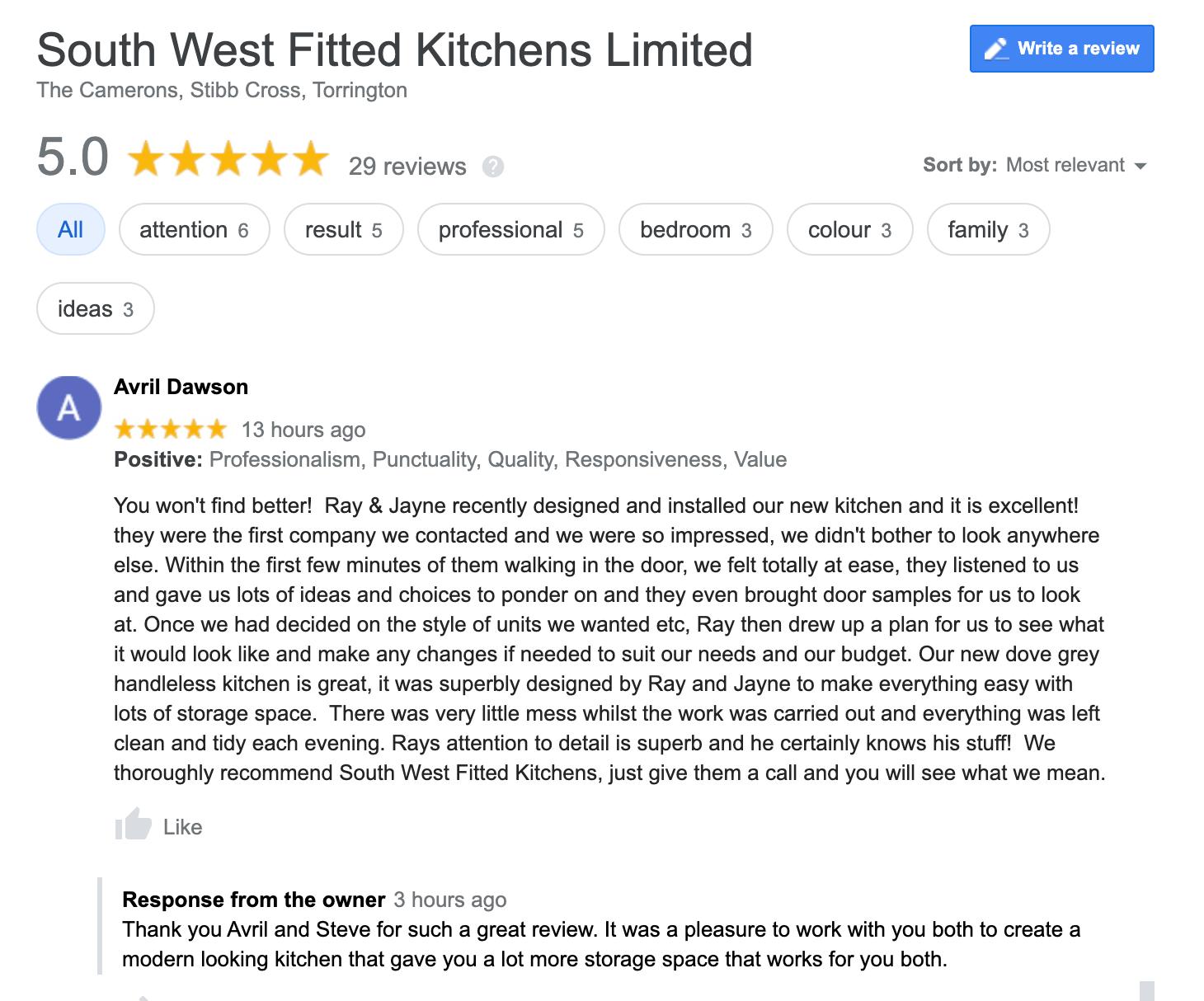 Dawson Kitchen Review
