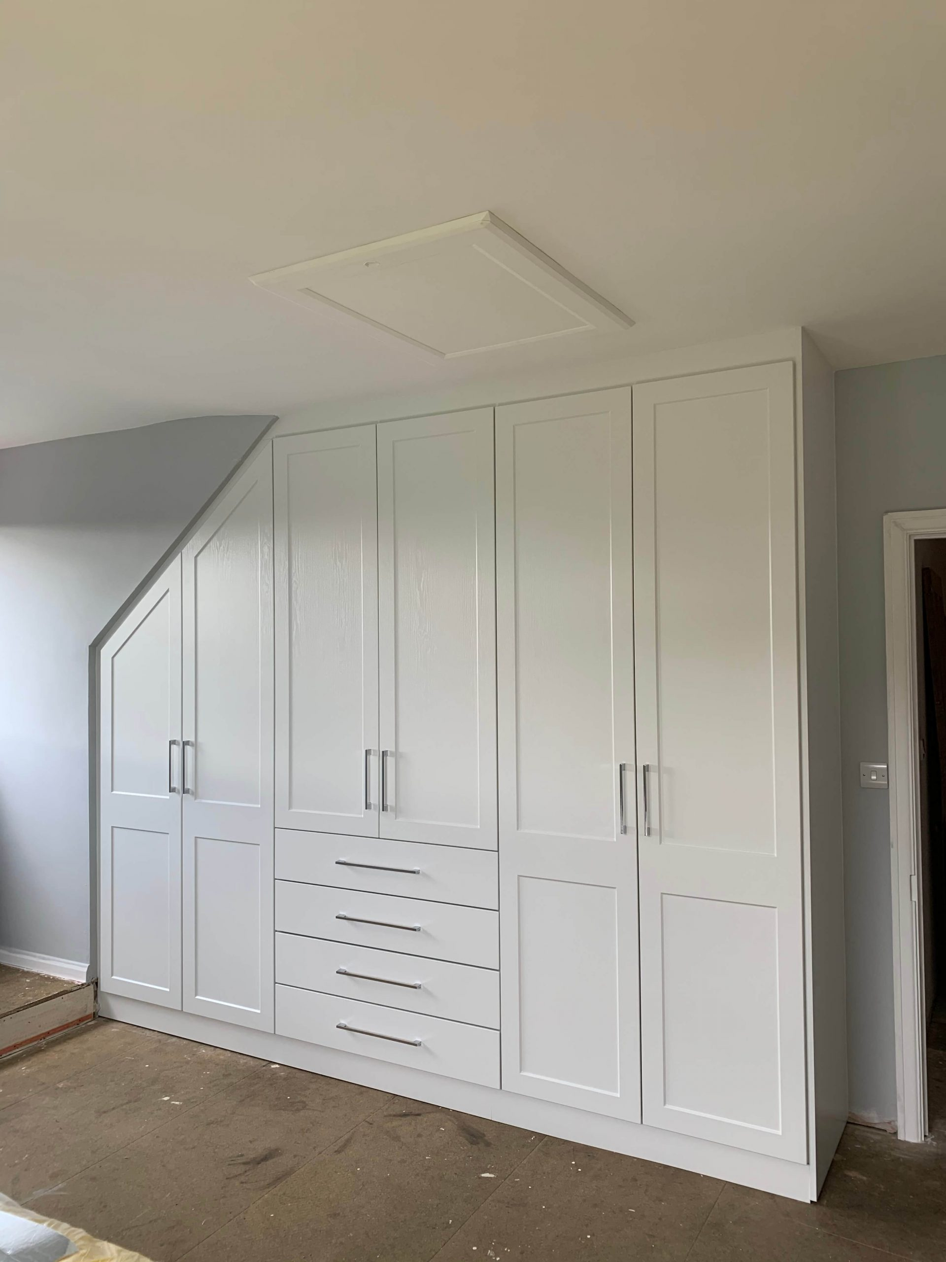 Shaker Wardrobes Yelland